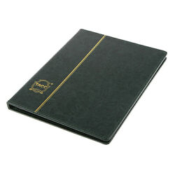 Green Color Paper Money Collection Album Storage 10 Pages Banknote Holder