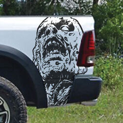 Zombie Walking Dead Vinyl Decal Graphic Truck Car Bed Side Tailgate Vehicle Hood