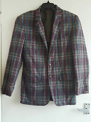 Gianni Caporale Menand039s Small Cotton/polyester Multi-coloured Jacket - Perfect