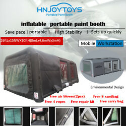 New Inflatable Spray Booth Custom Tent Car Paint Booth Inflatable Car Black