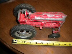 Vintage--hubley  Farm Tractor With Steering Front Tires   Estate Sale