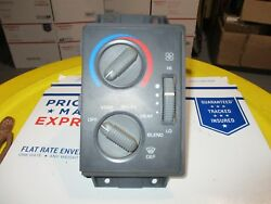 95-97 Chevy S10 Heater Blower Motor Switch Climate Control Temperature Defroster