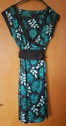 Warehouse 100 Silk Lovely Wrap Dress Order By 12 July Or End Of August