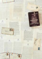 B TRAVEN  Collection of 21 B Traven Letters to Ruth Ford with Related Signed