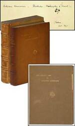 James A M WHISTLER  The Gentle Art of Making Enemies Signed 1st Edition 1890