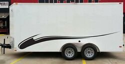 Flames Stripes Tribal Race Pickup Trailer Rv Vinyl Decal Graphic Truck Vehicle