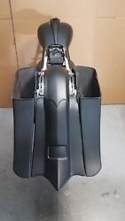 09-13 Harley Davidson Stretched 7 Down 14 Back Bags And Fender Flh Touring
