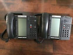 2 Mitel 5320 Ip Phone With Stand And Cord Quantities Available