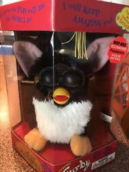 Special Limited Edition Extremely Rare Misprint Box Graduation Furby 70-886