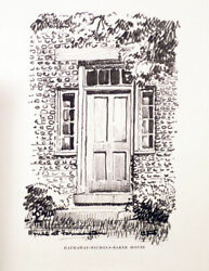 Carl F Schmidt / The Cobblestone House Entrance First Edition 1965