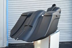 Harley Davidson 7 Stretched Saddlebags And Rear Fender Touring Baggers 2009-13