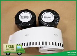 Labels123 Brand Fits Brother 2205 Continuous Feed Labels Thermal 2.4 X 100 Feet