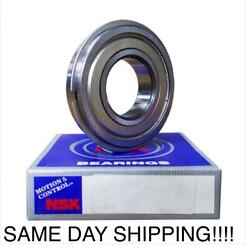 6208zznr Shielded Bearing With Snap Ring Groove + A Snap Ring 40x80x18v