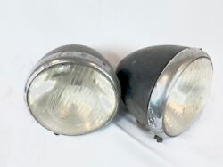Used Mercedes Benz Vintage 1940and039s 1950and039s Headlight Tear Drop Set W136 For 170