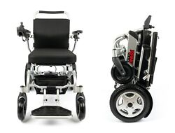 2021 New Dual Motor No. 1 Best Rated Foldable Compact Electric Wheelchair