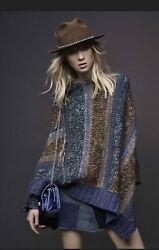 Zadig And Voltaire Pist Delux Pancho Fashion Poncho Sweaters For Women