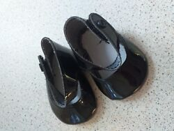 65 Mm Black Soft Mary Jane Shoes Without Bow Code S002-4 Blk