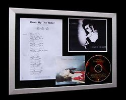 PJ HARVEY Down By Water LIMITED Numbered CD ENGLAND BRING LOVE FRAMED DISPLAY