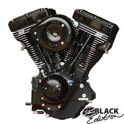 S&S Cycle - 310-0828 - V111 Long Block Engine Black