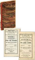 Bound Volume Of Handbills For Musical Performances At Two German Theaters W