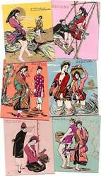 Ho Xuan Huong / Archive A Collection Of Six Vietnamese Silk Screen Posters