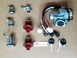 Ignition Lock Cylinder With All Locks And Keys Fit Mazda 323 Mazda Genuine Parts