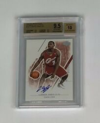 2003 Ultimate Collection LeBron James ROOKIE RC AUTO 016250 #127 BGS 9.5