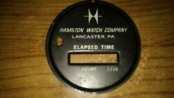 Used Hamilton Watch Company Hour Meter Face