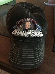 2002 World Series Champions Sf Giants Cap By Mistake Rare