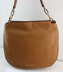 NEW AUTHENTIC MICHAEL KORS FULTON ACORN HANDBAG LG LARGE SHOULDER HOBO WOMEN#x27;S $119.99