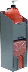 Cargopal Cp270 Towel And Hand Cleaner Combo Rack For Race Trailers Grey