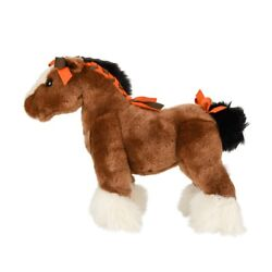 Hermes Hermy The Horse Plush Toy Pm New
