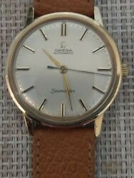 Omega Seamaster 1966 Automatic Dress Watch Of Solid 9ct Yellow Gold