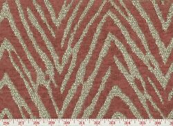 Red Animal Skin Tapestry Upholstery Fabric P Kaufmann Animal Magnetism CL Sumac
