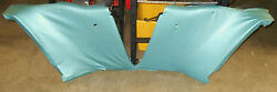 1965 1966 67 68 Mustang Coupe Gt Orig Lh+rh Deluxe Interior Rear Quarter Panels