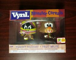 Funko Vynl Ad Icons Monster Cereals Yummy Mummy And Fruit Brute Sdcc Exclusive