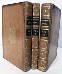 Francois Le Vaillant / New Travels Into The Interior Parts Of Africa 1st Ed 1796