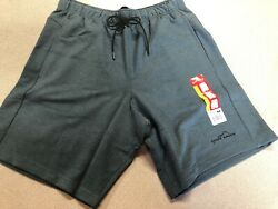 Men's Orion Blue EDDIE BAUER Pocket Lounge Drawstring Shorts Size M MRSP$50 (G2)