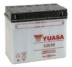 Yuasa 53030 Bmw R90/6 R9os And03969-and03976 Conventional Yumicron 12v Battery