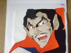 Tomb Of Dracula Sovereign Of The Damned Marvel Anime Production Cel 5