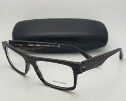New Reading MONTBLANC Eyeglasses MB 448 017 Silver & Burgundy Half-Eyes Frames