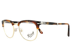 New Reading Persol Eyeglasses 3132-V 24 95 96 108 Black Tortoise Folding Frames