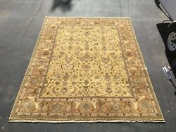 8x10 Handknotted Area Rug At Raleigh Furniture Gallery