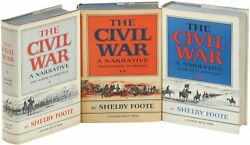 Shelby Foote / The Civil War A Narrative First Edition 1974