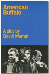 David Mamet / American Buffalo 1st Edition 1978