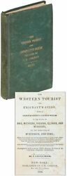 J Calvin Smith / Western Tourist And Emigrant's Guide With Compendious 1st 1839