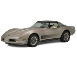 1982 Corvette C3 Collector Edition Complete Body Decal Kit 630111