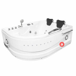 Whirlpool Massage Hydrotherapy Bathtub Hot Tub 2 Person Maui With Heater