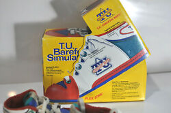 Vtg T.u. Athletic Dept. Barefoot Simulator Shoes With Box Made In Korea 1989