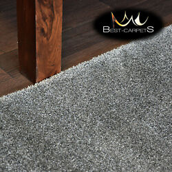 Hardwearing Soft Carpets And039discretionand039 Grey Very Thick Large Size Best-carpets